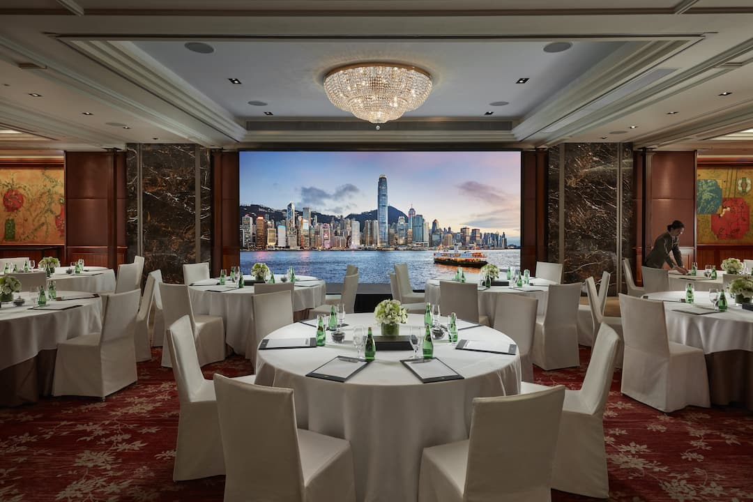 connaught room at mandarin oriental, hong kong