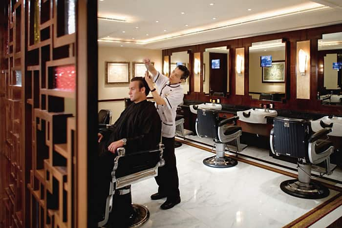 The Mandarin Barber Oriental Hotel Hong Kong