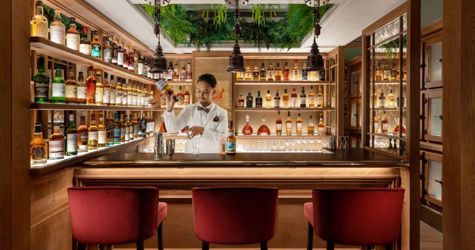 The Aubrey omakase bar