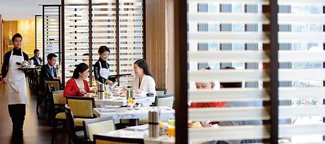 香港文华东方酒店 Café Causette