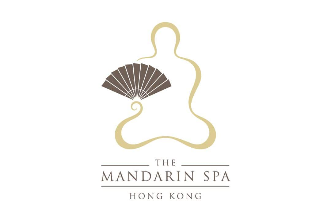 spa logo at mandarin oriental, hong kong