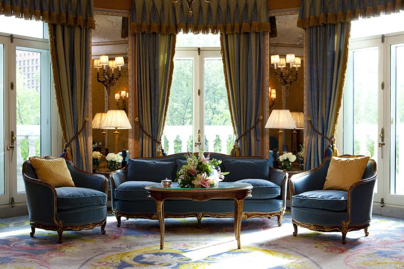 Luxury hotels madrid golden triangle mandarin oriental for Luxury suites madrid madrid