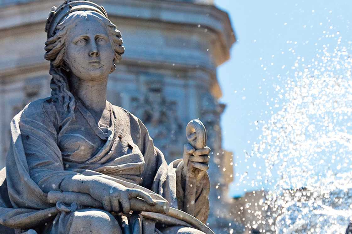 Madrid, Spain - The Cybele Fountain