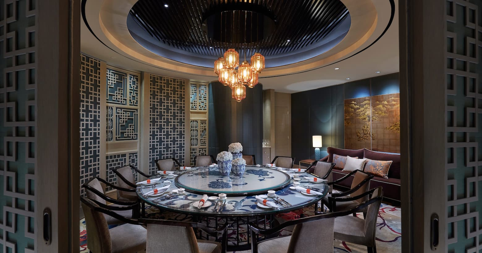 Li Feng dining area