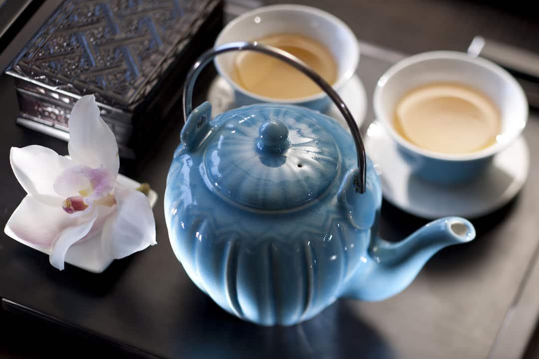 tea set at mandarin oriental, macau