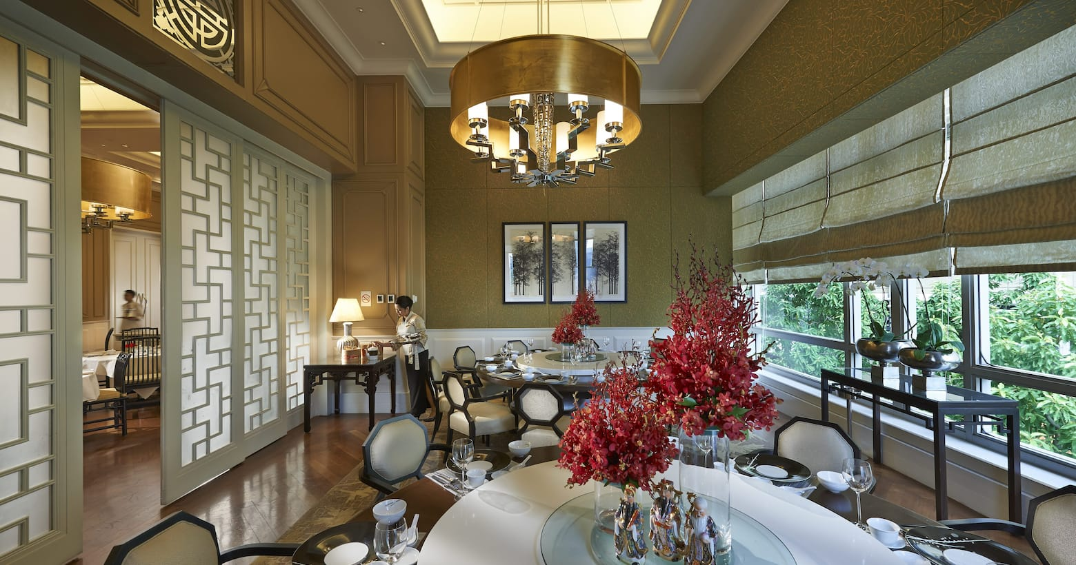 dining room in lai po heen