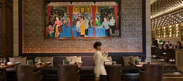 mosaic restaurant at mandarin oriental, kuala lumpur