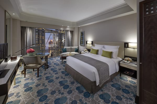 Luxurious rooms and suites