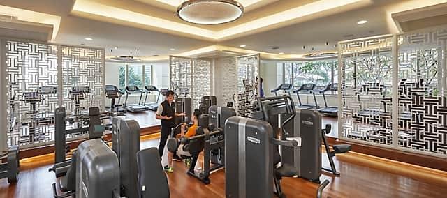 fitness centre at mandarin oriental, kuala lumpur