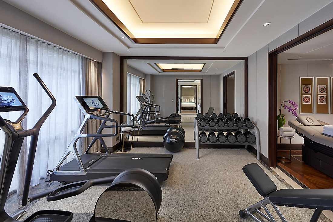 Royal Suite fitness centre