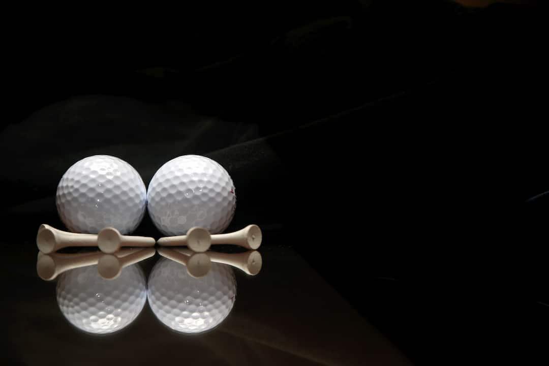 golf balls with pins at mandarin oriental, kuala lumpur