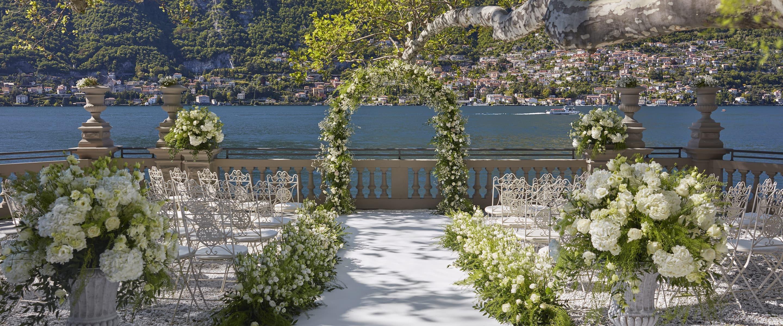 Luxury Wedding Reception Venue Lake Como Mandarin