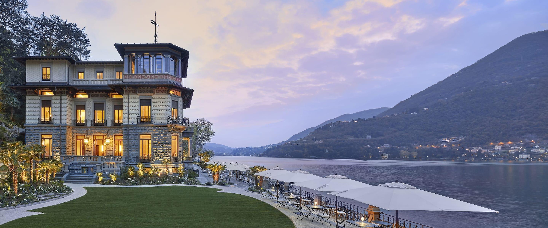 Luxury 5 Star Hotel Lake Como Mandarin Oriental Lago Di
