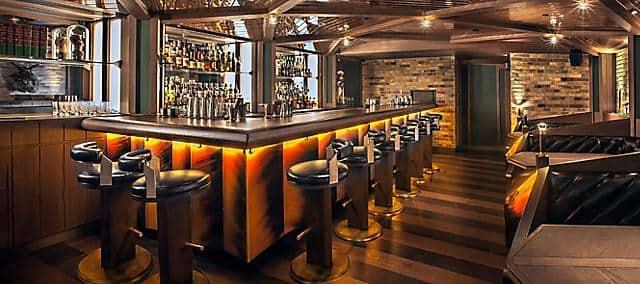 PDT bar at the landmark mandarin oriental, hong kong