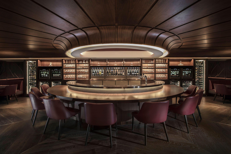 SOMM bar area