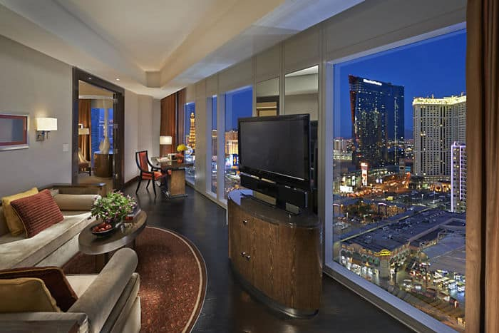 Strip View Suite Living Room