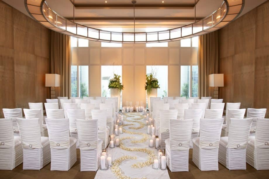 Luxury Wedding Reception Venue Hotel On The Strip Mandarin