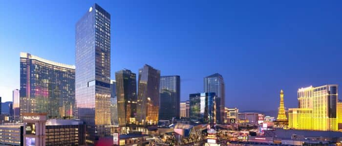 Mandarin Oriental, Las Vegas' stunning location overlooking The Strip.