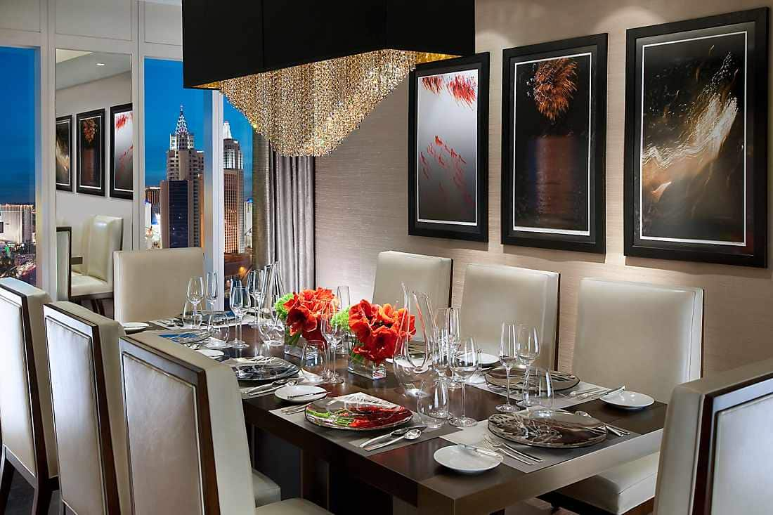 Luxury accommodations on the strip mandarin oriental las vegas - Las vegas restaurants with private dining rooms ...