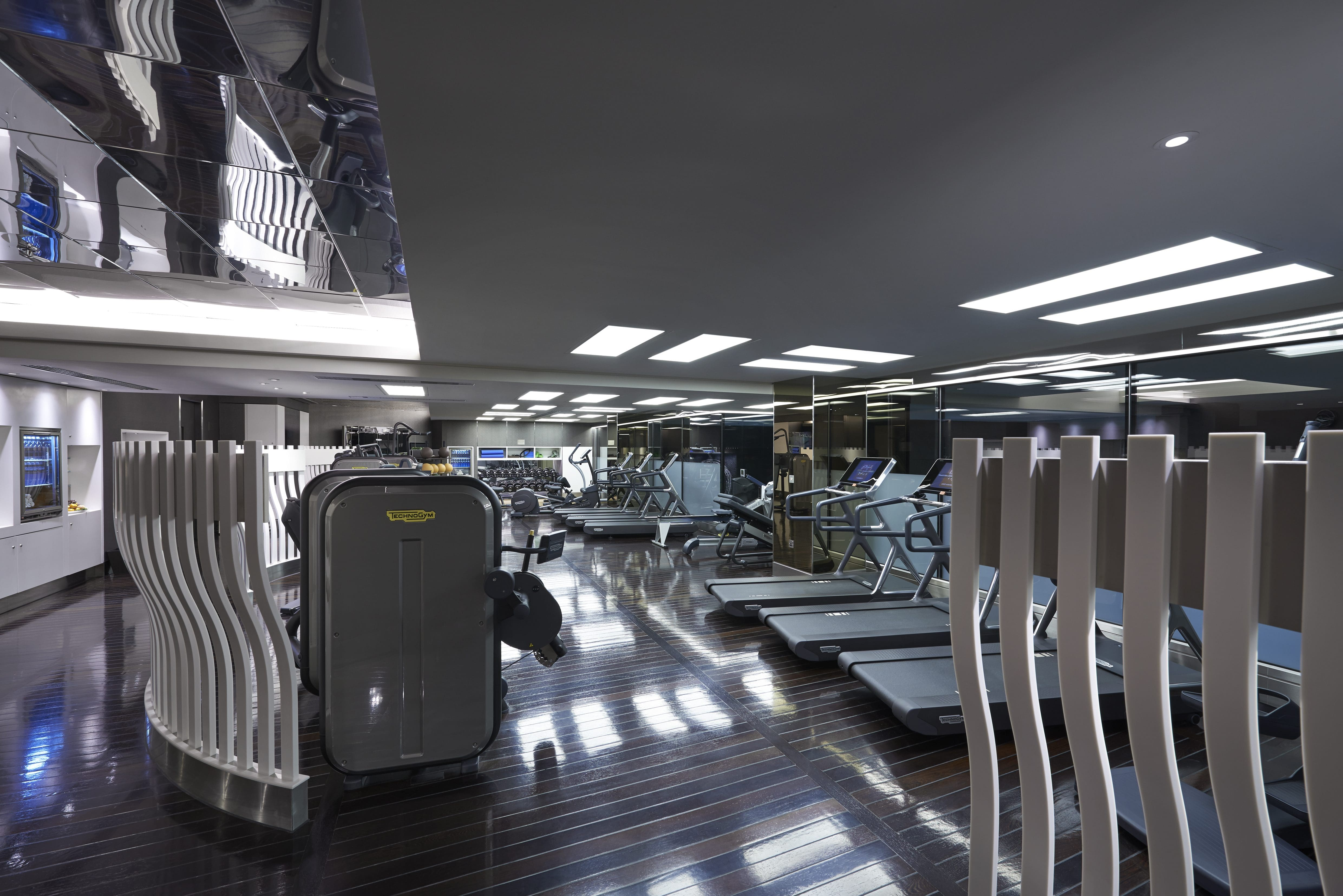 Fitness center at the sanderson london hotel oyster