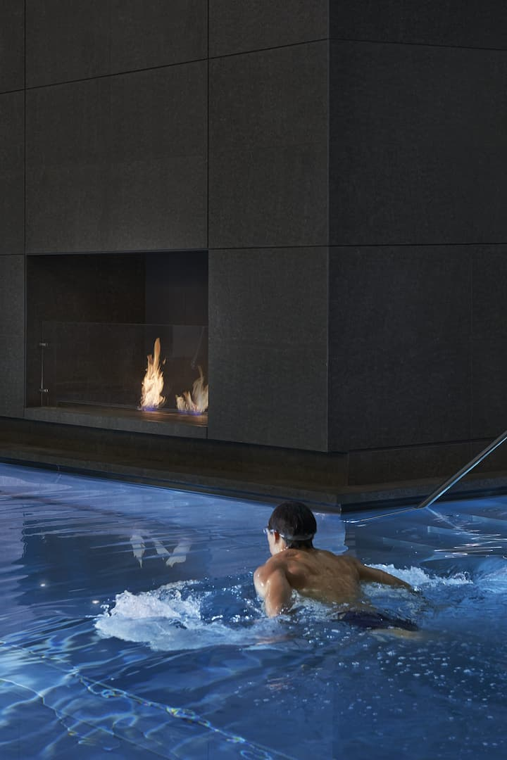 Luxuriöser Spa-Pool Mandarin Oriental London