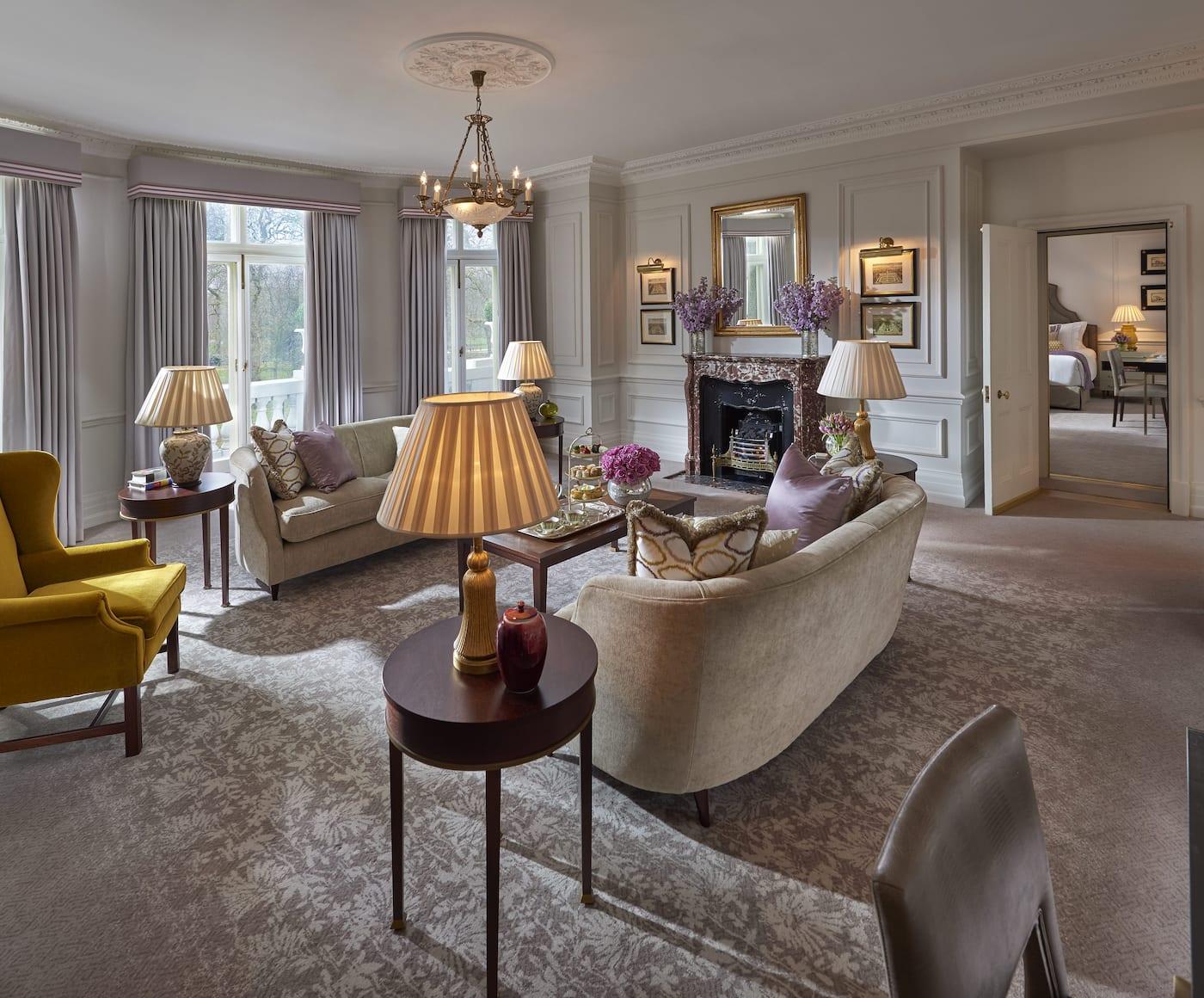 Luxury Hotels London Mandarin Oriental Hyde Park London