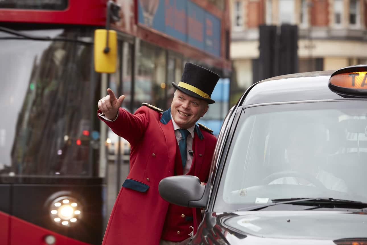 london doorman