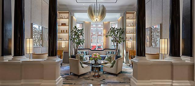 pr sentation de l h tel hyde park mandarin oriental london. Black Bedroom Furniture Sets. Home Design Ideas