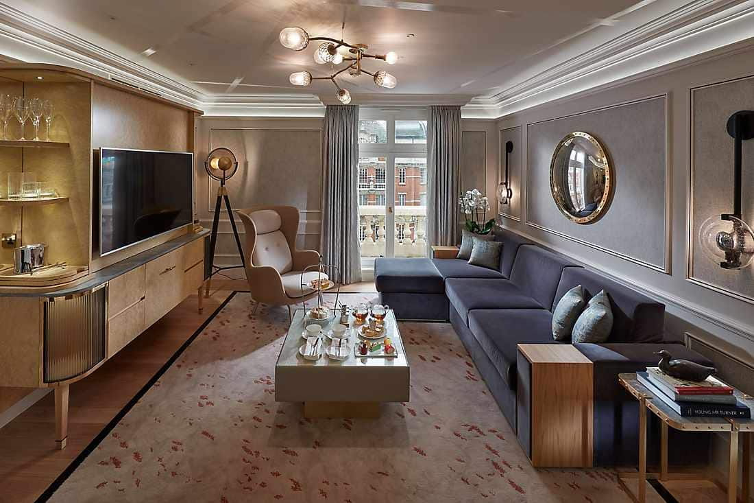 Belgravia Suite living room