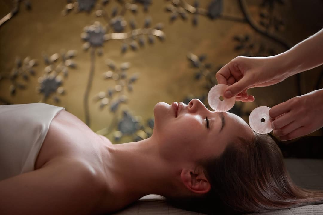 Luxury spa Jade treatment, Mandarin Oriental Hyde Park, London