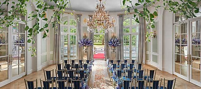 wedding venue overlooking hyde park london