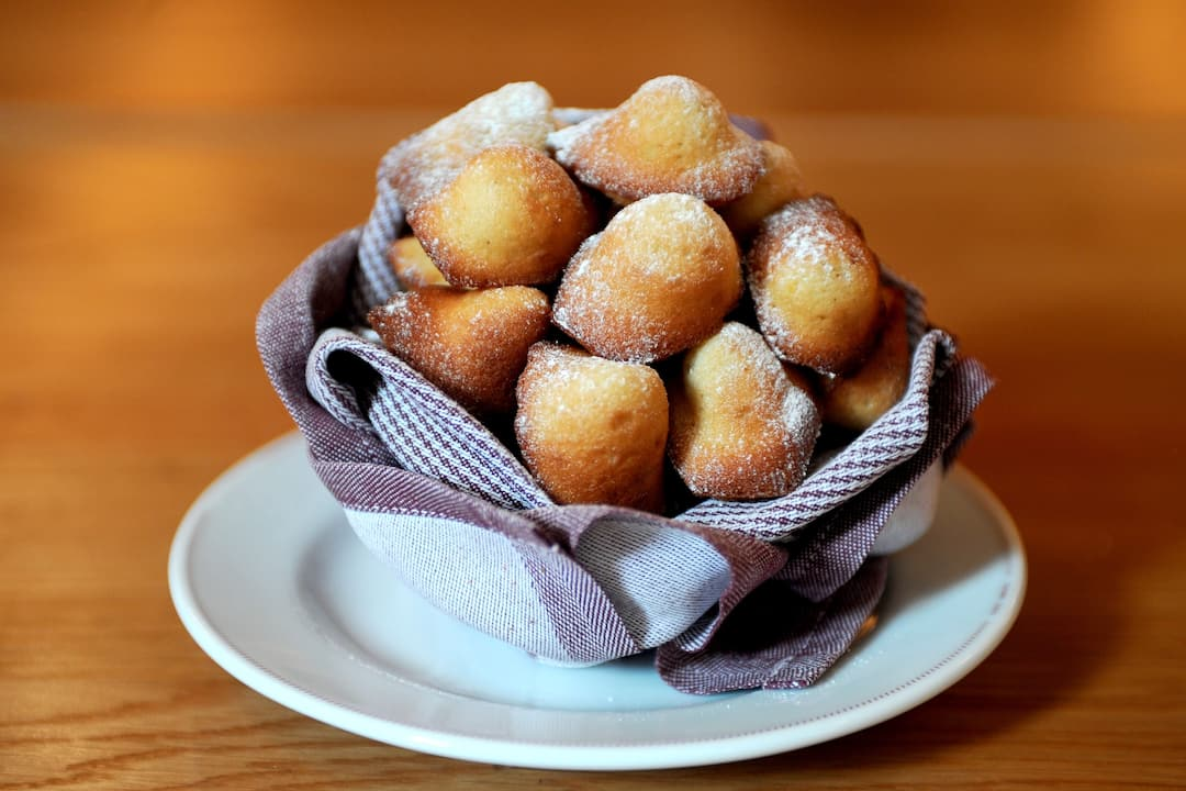 bowl of madeleine from bar boulud