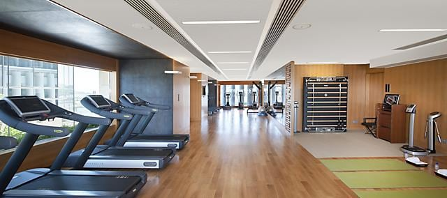fitness centre at mandarin oriental, macau
