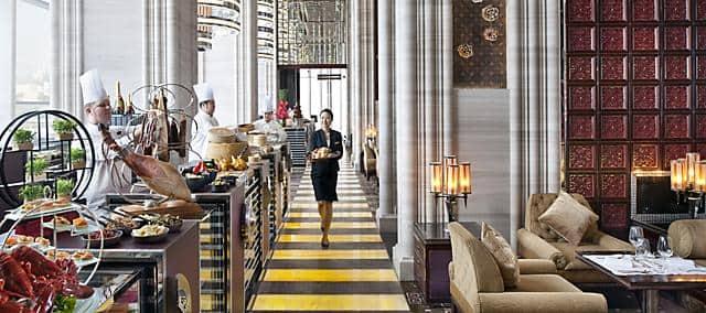 vida rica restaurant buffet at mandarin oriental, macau