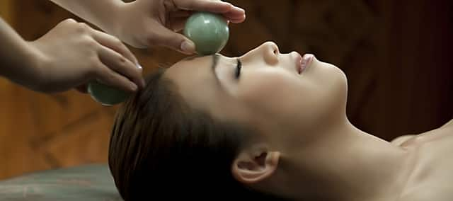 jade ball massage at mandarin oriental, macau