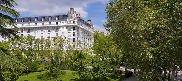 hotel Ritz exterior