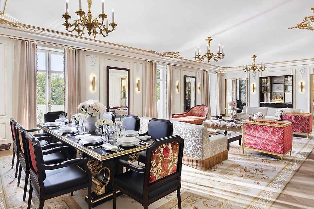 Salón de la suite Real de dos dormitorios