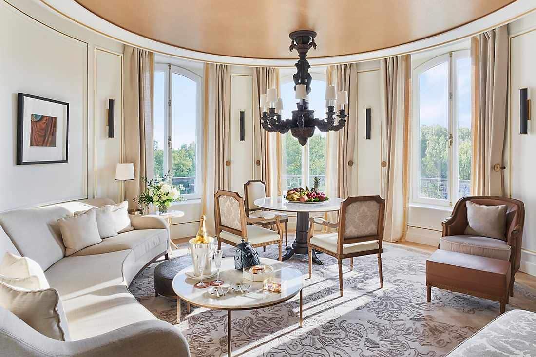 Salón de la suite Turret