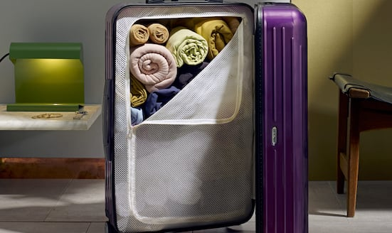 Marie Kondo's suitcase-packing masterclass