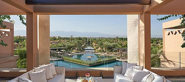 The Marrakech Suite Terrace