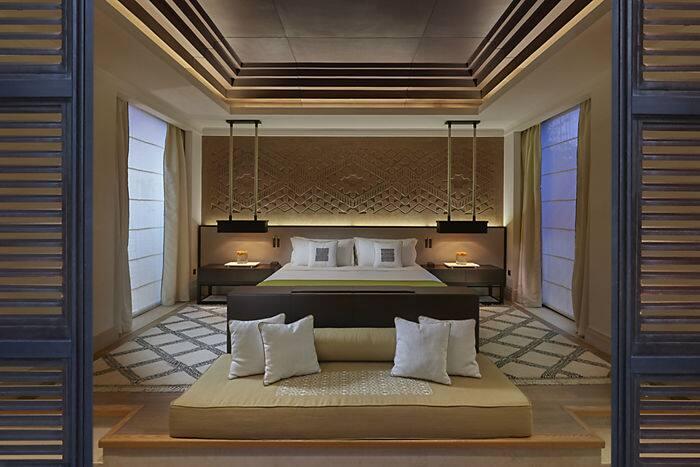 holiday pool villa h tel mandarin oriental marrakech. Black Bedroom Furniture Sets. Home Design Ideas