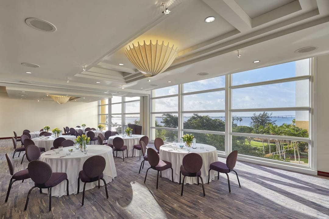 meeting room with views