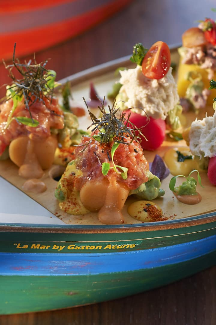 Restaurant La Mar By Gaston Acurio Menu Mandarin