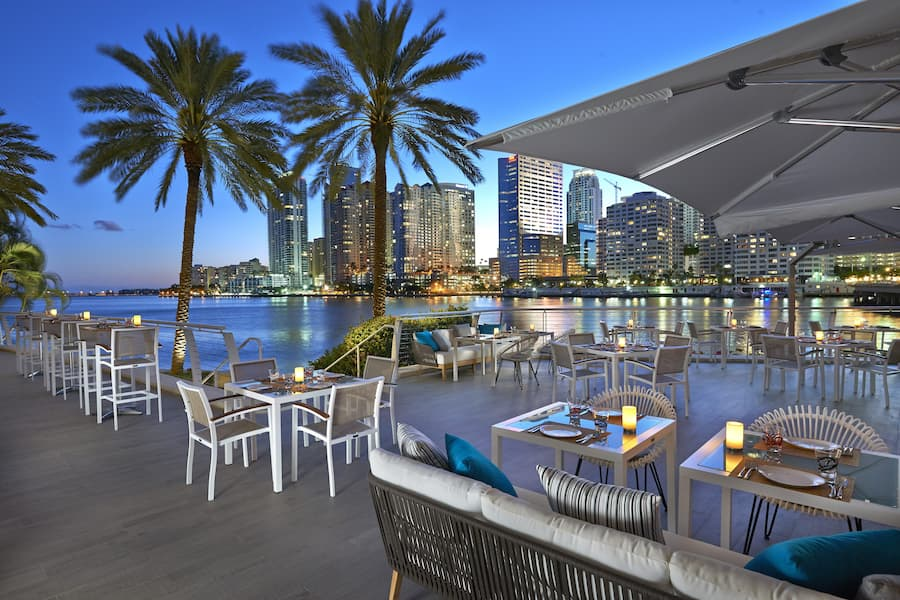 La Mar Restaurant By Gaston Acurio Mandarin Oriental Miami