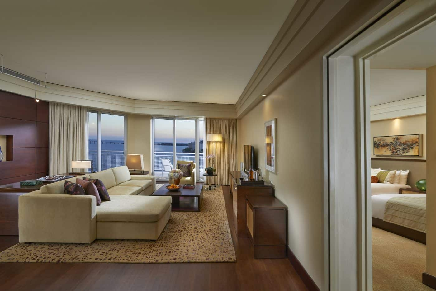 premier bay view two bedroom suite miami