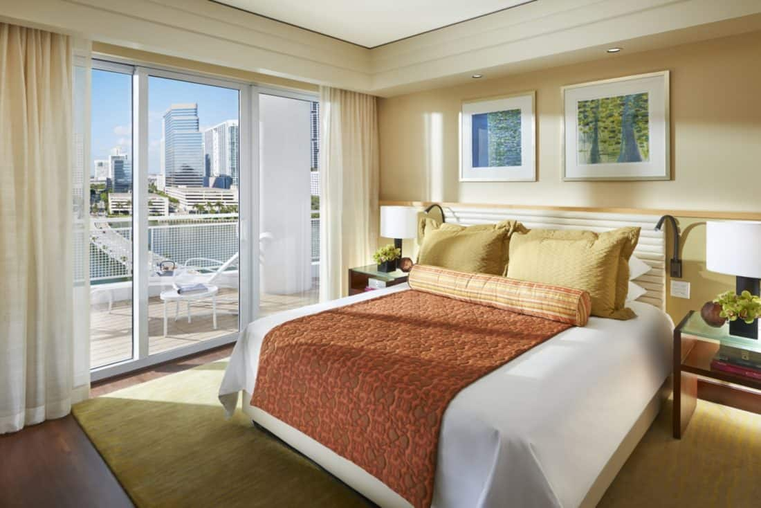 Luxury Accommodations In Brickell Mandarin Oriental Miami
