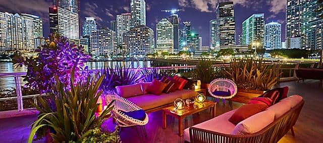 night patio of yaku by la mar