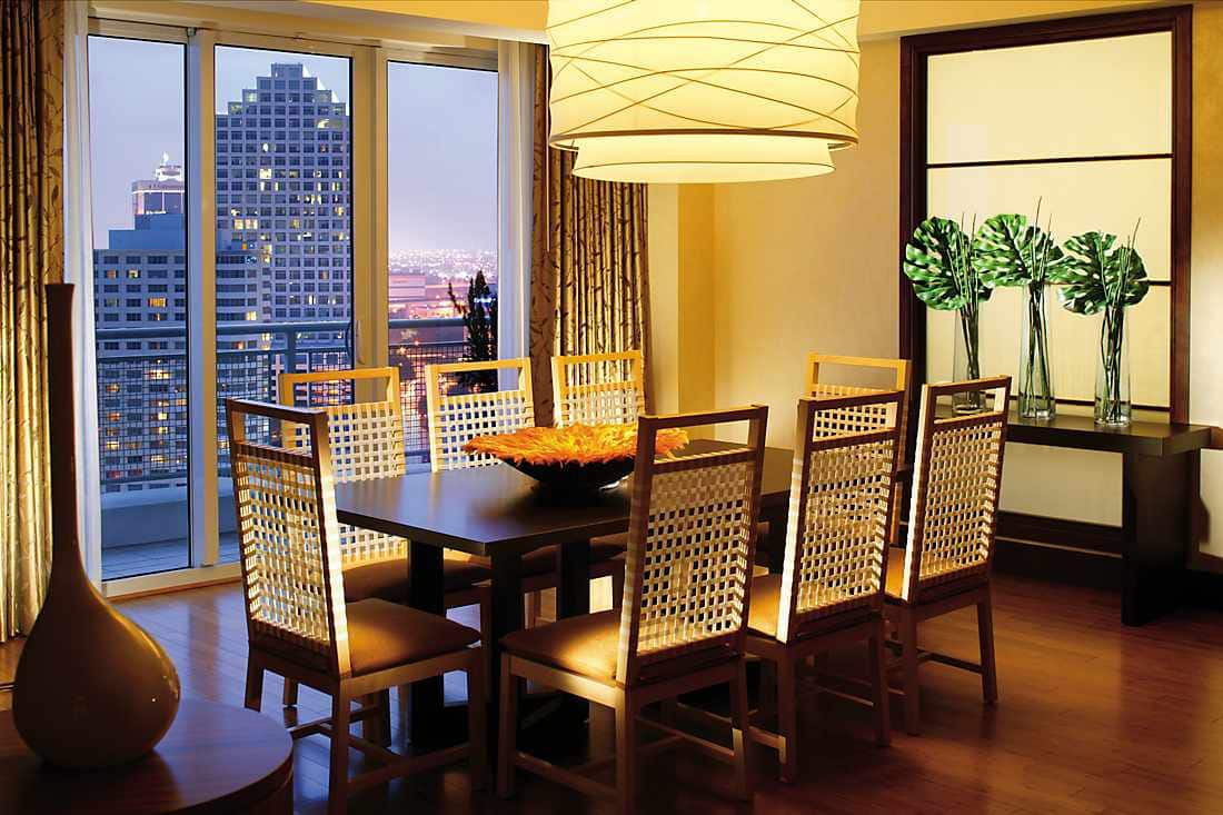 Mandarin Presidential Suite Dining Room
