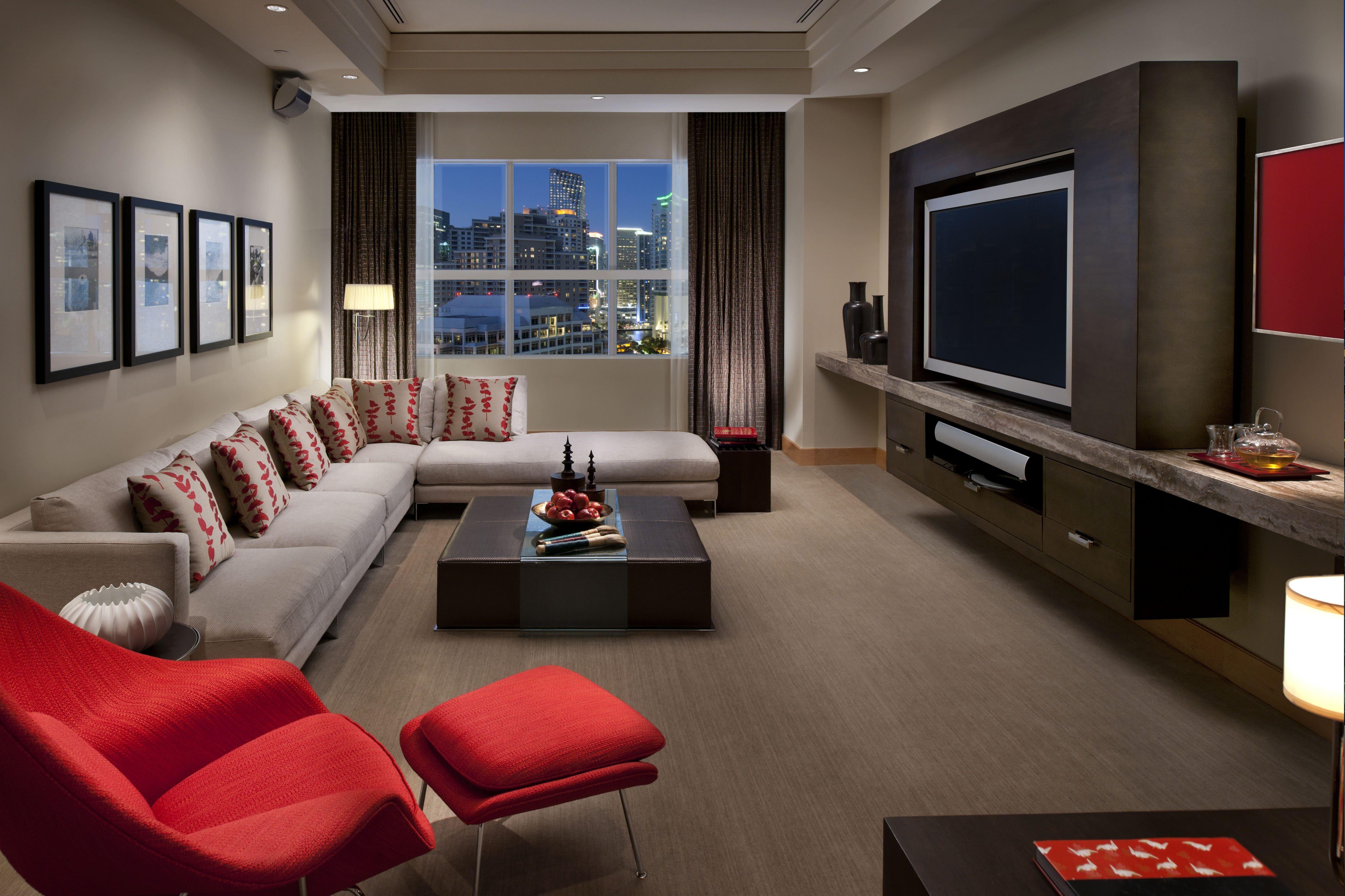 oriental suite media room