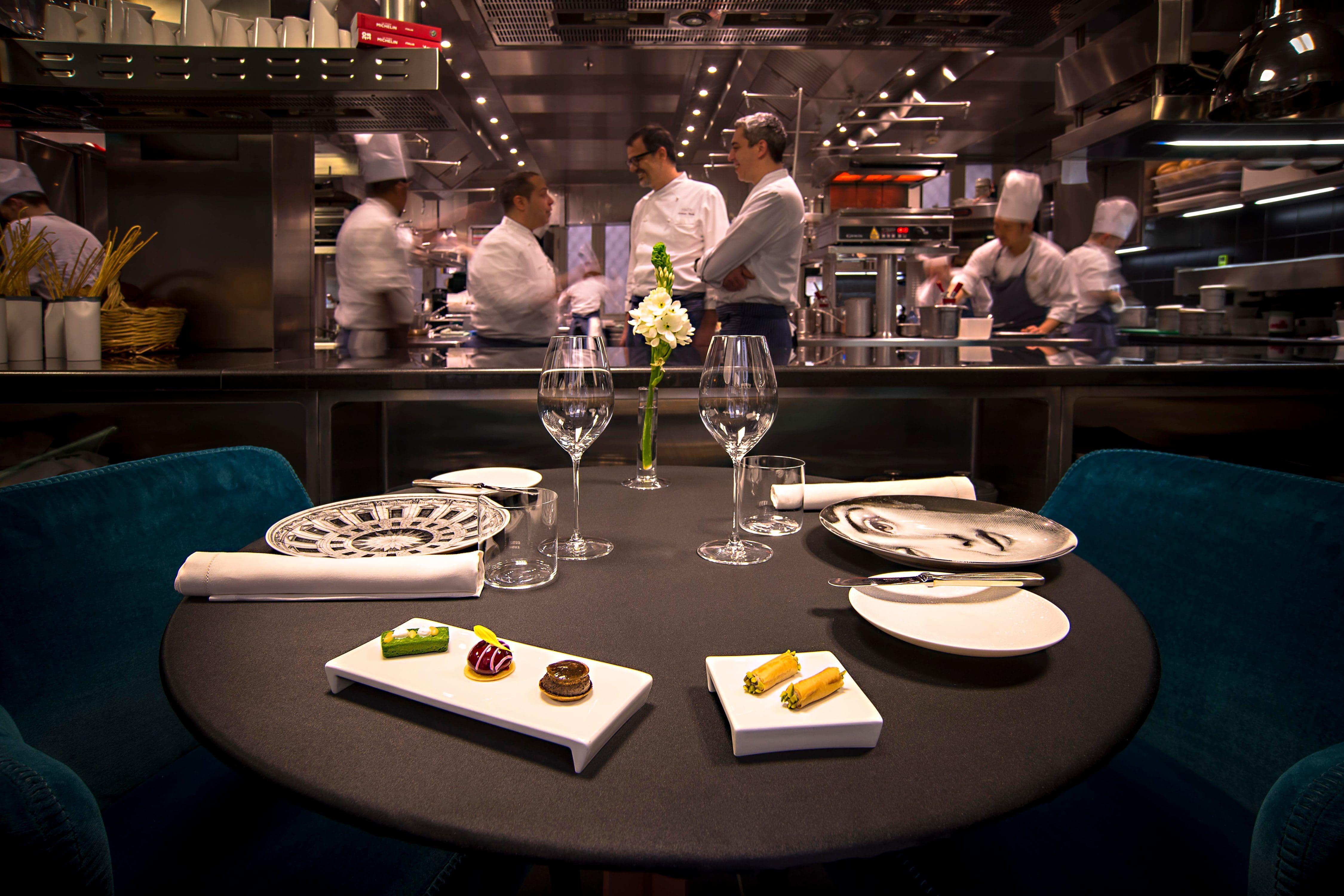 Fine Dining Restaurant Seta Awards Mandarin Oriental Hotel Milan